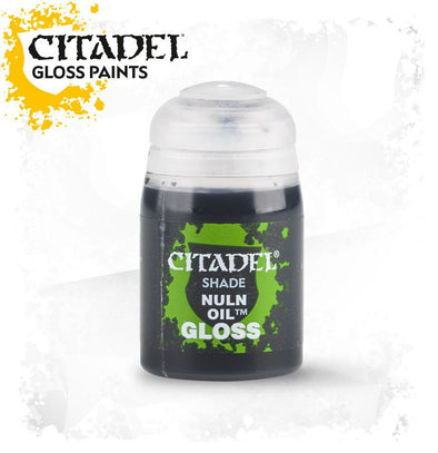 Buy Citadel Shade - Nuln Oil - Gloss and more Great Games Workshop Products at 401 Games