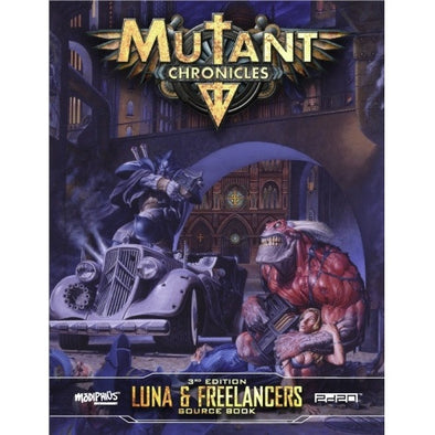 Mutant Chronicles - Luna & Freelancers Source Book - 401 Games