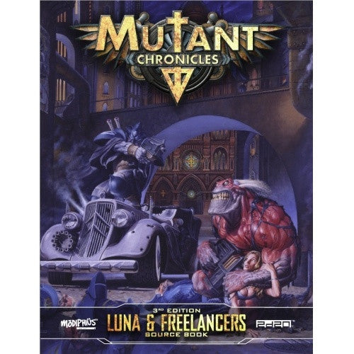 Buy Mutant Chronicles - Luna & Freelancers Source Book and more Great RPG Products at 401 Games