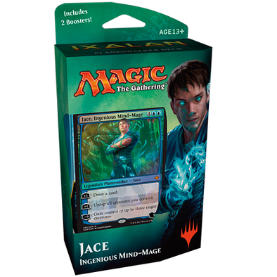 Buy MTG - Ixalan - Planeswalker Deck Jace and more Great Magic: The Gathering Products at 401 Games