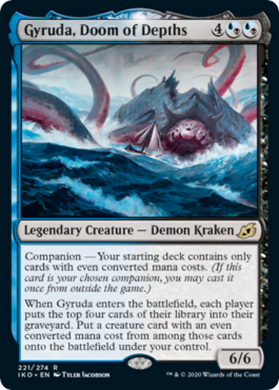 Gyruda, Doom of Depths (IKO) (Pre-Order: 2020-05-15)