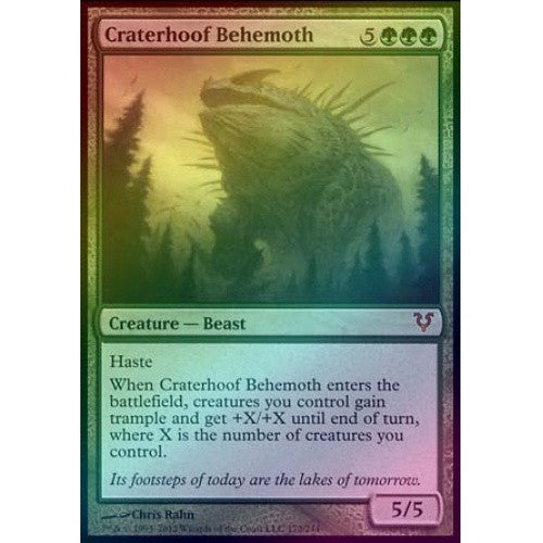 Craterhoof Behemoth (Foil) (AVR) available at 401 Games Canada