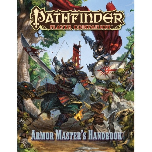 Pathfinder - Player Companion - Armor Master's Handbook (CLEARANCE) available at 401 Games Canada