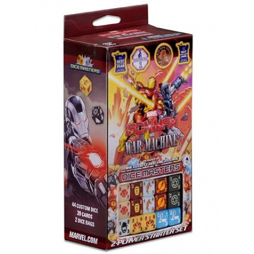 Dice Masters - Marvel Iron Man and War Machine - Starter Set - 401 Games