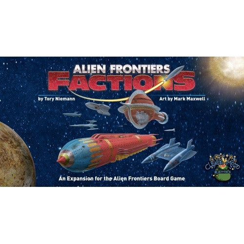 Buy Alien Frontiers - Factions 3rd Edition and more Great Board Games Products at 401 Games
