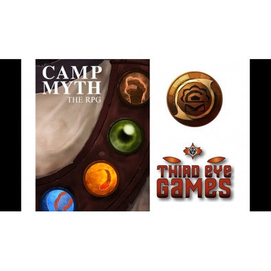 Camp Myth - Core Rulebook - 401 Games