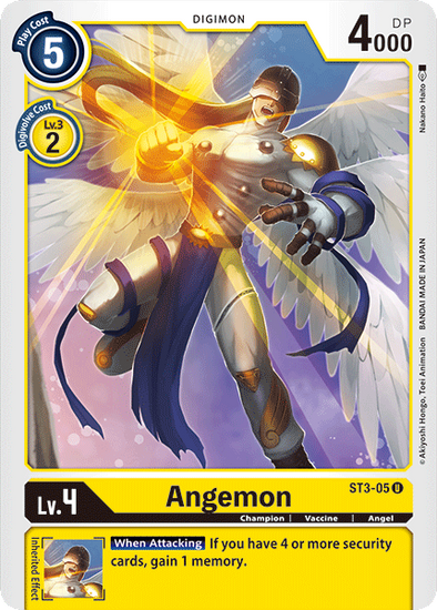 Angemon (ST3-05) available at 401 Games Canada