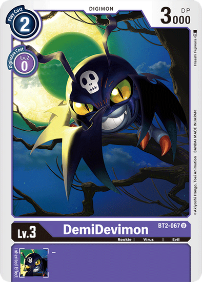 DemiDevimon (BT2-067) available at 401 Games Canada