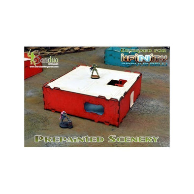 Bandua - Modular Building - Red & White - 401 Games