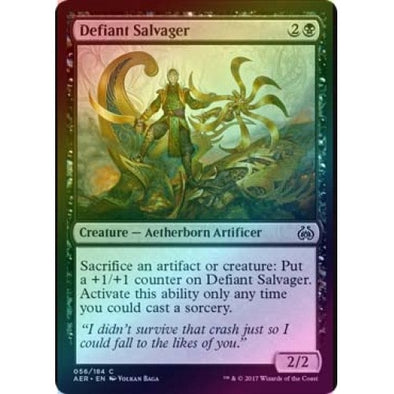 Defiant Salvager (Foil) (AER) available at 401 Games Canada