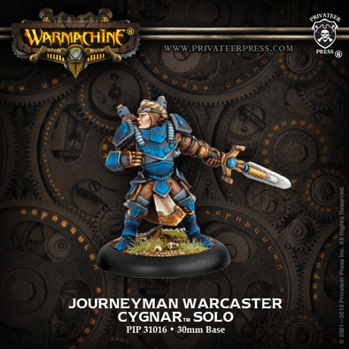 Buy Warmachine - Cygnar - Journeyman Warcaster and more Great Tabletop Wargames Products at 401 Games
