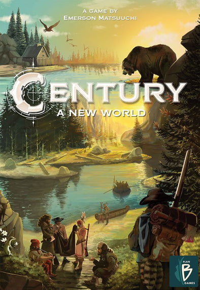 Buy Century - A New World (Pre-Order) and more Great Board Games Products at 401 Games