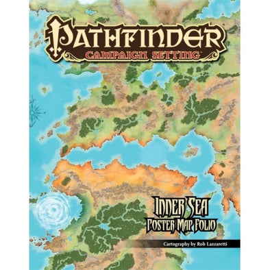 Pathfinder - Campaign Setting - Inner Sea Poster Map Folio - 401 Games