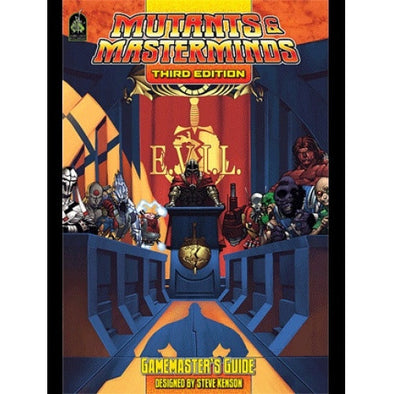 Mutants and Masterminds - 3rd Edition - Gamemaster's Guide - 401 Games