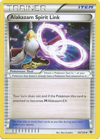 Buy Alakazam Spirit Link - 90/124 and more Great Pokemon Products at 401 Games