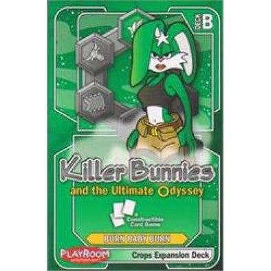 Killer Bunnies and the Ultimate Odyssey: Burn Baby Burn - Crops Expansion Deck (no restock) - 401 Games