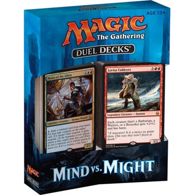 Buy MTG - Duel Deck - Mind vs. Might and more Great Magic: The Gathering Products at 401 Games