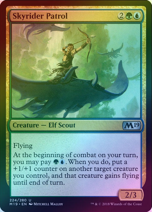 Skyrider Patrol (Foil) (M19) available at 401 Games Canada