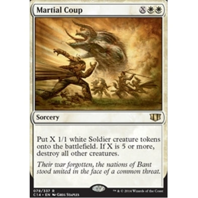 Martial Coup (C14) available at 401 Games Canada