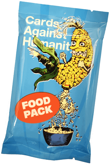 Cards Against Humanity - Food Pack available at 401 Games Canada