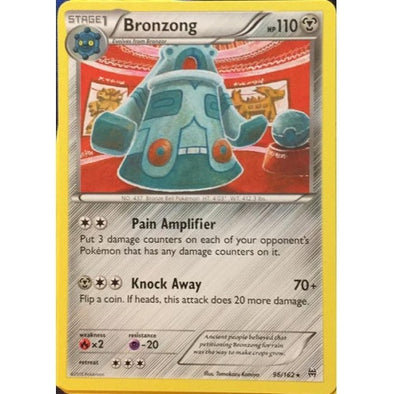Buy Bronzong - 96/162 - Reverse Foil and more Great Pokemon Products at 401 Games