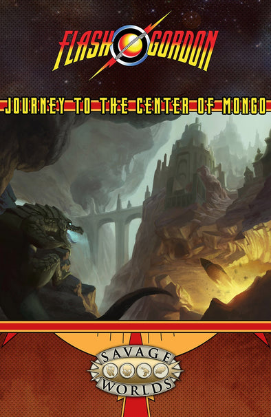 Buy Savage Worlds - Flash Gordon - Journey to the Center of Mongo Game Master's Screen and more Great RPG Products at 401 Games
