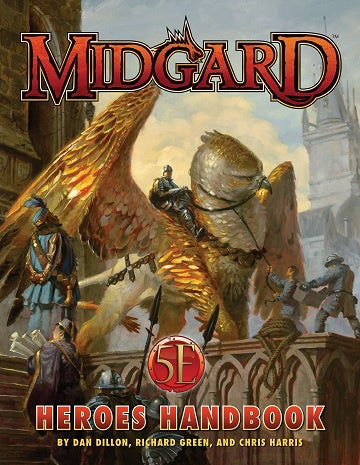 Midgard - Heroes Handbook for 5th Edition