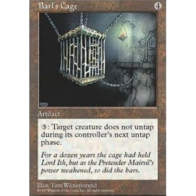 Barl's Cage - 401 Games
