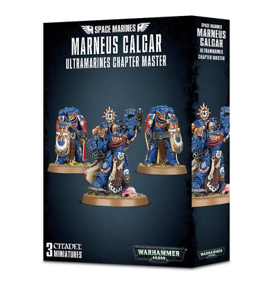 Warhammer 40,000 - Space Marines - Marneus Calgar with Victrix Guard available at 401 Games Canada