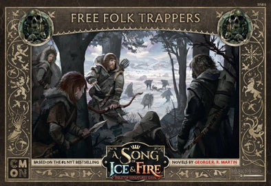 Buy A Song of Ice and Fire - Tabletop Miniatures Game - Free Folk - Trappers and more Great Tabletop Wargames Products at 401 Games