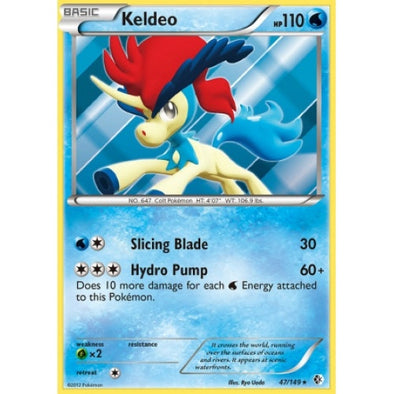 Keldeo - 47/149 (BCR047) available at 401 Games Canada