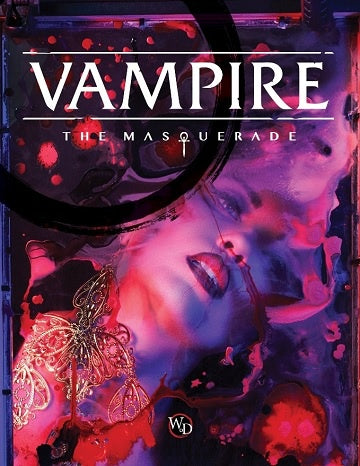 Vampire - The Masquerade 5th Ed. - Hardcover Core Rulebook - 401 Games