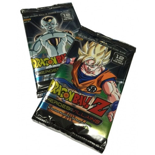 Buy TCG Dragonball Z - Heroes & Villains - Booster Pack and more Great Dragonball Z Products at 401 Games