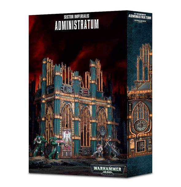 Buy Warhammer 40,000 - Sector Imperialis - Administratum and more Great Games Workshop Products at 401 Games
