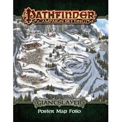 Buy Pathfinder - Campaign Setting - Giantslayer Poster Map Folio and more Great RPG Products at 401 Games