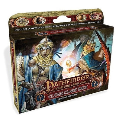 Buy Pathfinder Adventure Card Game - Cleric Class Deck and more Great Board Games Products at 401 Games