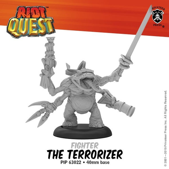 Riot Quest - Hero - The Terrorizer - 401 Games