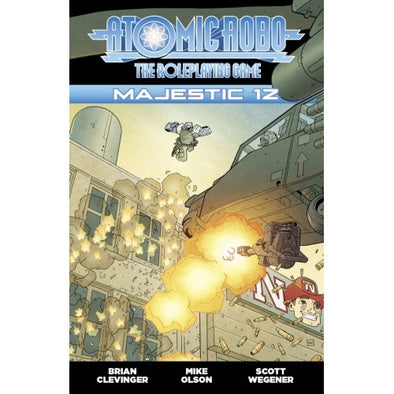 Fate - Atomic Robo - Majestic 12 - 401 Games