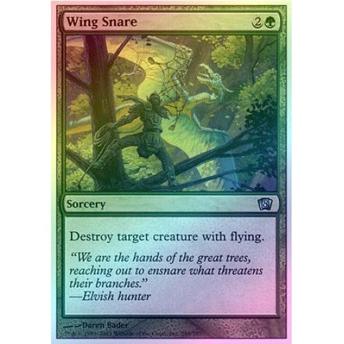 Wing Snare (Foil) available at 401 Games Canada