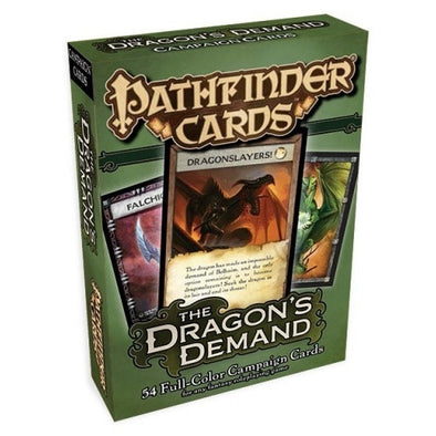 Pathfinder - Cards - The Dragon's Demand - 401 Games