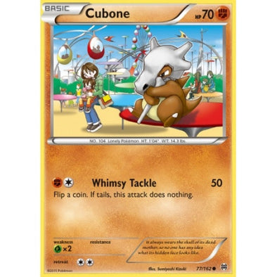 Buy Cubone - 77/162 and more Great Pokemon Products at 401 Games