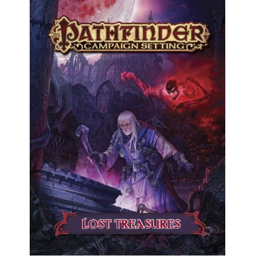 Pathfinder - Campaign Setting - Lost Treasures (CLEARANCE) available at 401 Games Canada