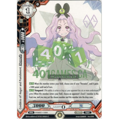 Goddess of Anger and Punishment, Nemesis - 401 Games