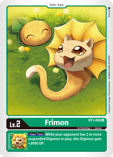 Frimon (BT1-008) available at 401 Games Canada
