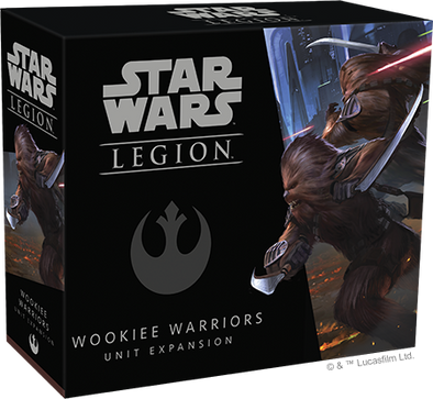 Star Wars - Legion - Rebel - Wookie Warriors