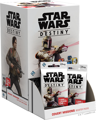 Star Wars Destiny - Covert Missions - Booster Box (Pre-Order)