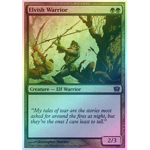 Elvish Warrior (Foil) - 401 Games