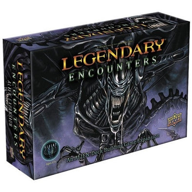 Legendary - Encounters - Aliens Deck-Building Expansion - 401 Games