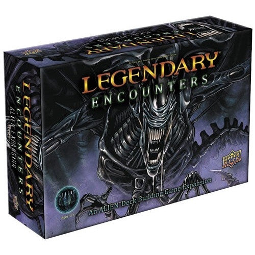 Legendary - Encounters - Aliens Deck-Building Expansion available at 401 Games Canada
