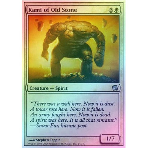 Kami of Old Stone (Foil) available at 401 Games Canada